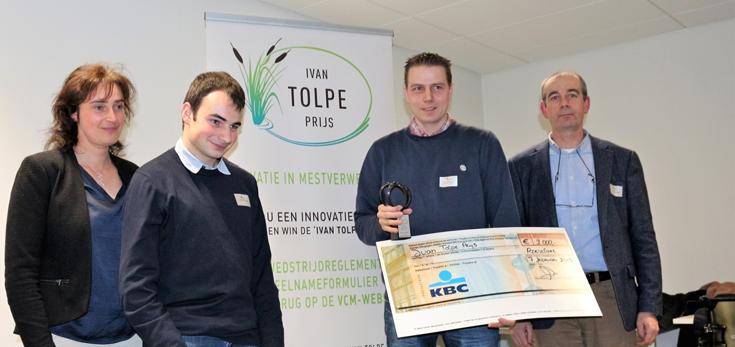 Flemish biogas plant owner wins third 'Ivan Tolpe award' with innovative water and nutrient recovery concept